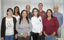O diretor da DAR, prof. Washington Braga Filho, e equipe.