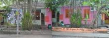 Fachada das casas VI e V. Fotógrafo Antônio Albuquerque. Acervo do Núcleo de Memória.