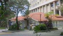 Vista da casa XV, sede da CCE. Fotógrafo Antônio Albuquerque. Acervo do Núcleo de Memória.