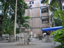 Edifício Padre Francisco Leme Lopes (IAG). Fotógrafo Antônio Albuquerque. Acervo do Núcleo de Memória.