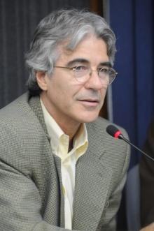 O Vice-reitor Acadêmico, prof. José Ricardo Bergmann. Acervo do Projeto Comunicar.