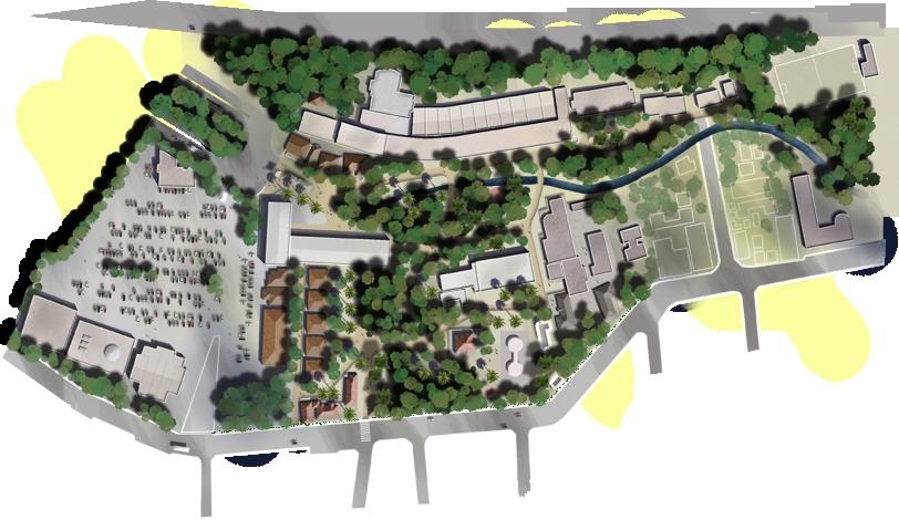 Mapa do Campus Gávea