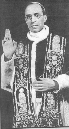 O Papa Pio XII