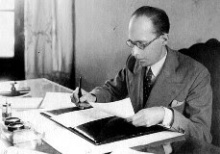 O Ministro Gustavo Capanema.
