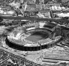 O Maracanã em 1950.