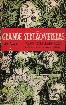 Capa da quarta edição de Grande Sertão: Veredas.