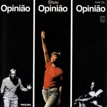 Capa do disco com a gravação do show Opinião.