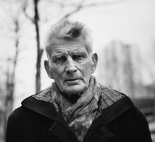 Samuel Beckett, em 1985.