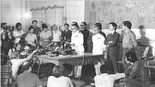 Cerimonia da Independência de Angola.