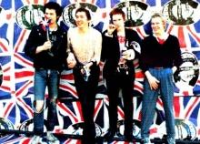 O grupo britânico Sex Pistols.