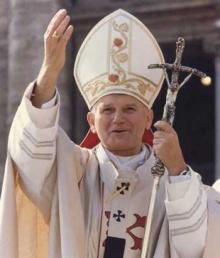 O Papa João Paulo II