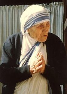 Madre Teresa de Calcutá.