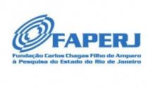 Logomarca da Faperj.