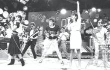 A banda Blitz no início dos anos 80.