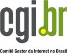 Logomarca atual do Comitê Gestor da Internet no Brasil.
