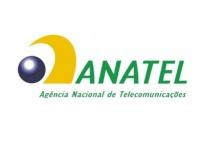 Logomarca da ANATEL.