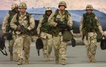Soldados norteamericanos no Afeganistão.