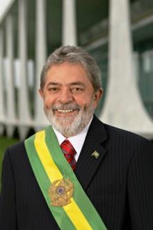 o presidente Lula no dia da posse, em 2007.
