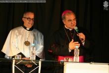 Padre Josafá Carlos de Siqueira S.J. e o Arcebispo Dom Orani João Tempesta, O.Cist.