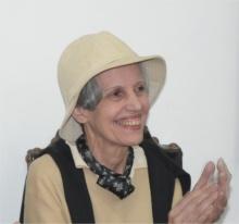 Professora Margarida Maria de Paula Basilio. Fotógrafo Antonio Albuquerque. Acervo do Núcleo de Memória.