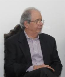 Professor Oswaldo Chateaubriand Filho. Fotógrafo Antonio Albuquerque. Acervo do Núcleo de Memória.
