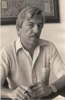 Professor Erlane Ferreira Soares. Fotógrafo Antonio Albuquerque. Acervo do Núcleo de Memória.