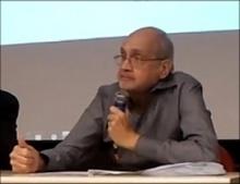 Professor Luiz César Povoa. Fotógrafo Weiler Filho. Acervo do Projeto Comunicar.