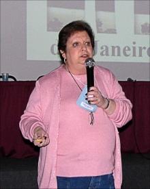 Professora Judith Felcman. Fotógrafo A. M. D Ferreira. Revista Quim. Nova,Vol. 35, No. 4
