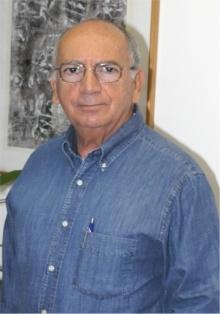 O Vice-Reitor para Assuntos Comunitários, Prof. Augusto Luiz Duarte Lopes Sampaio. Fotógrafo Antônio Albuquerque. Acervo do Núcleo de Memória.