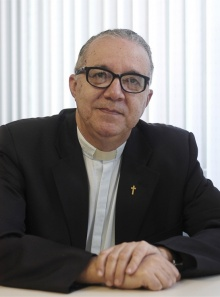 Reitor Pe. Josafá Carlos de Siqueira S.J.