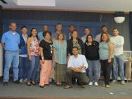 Posse da nova diretoria da AFPUC, realizada no Auditório Padre Anchieta. 02/01/2012. Fotógrafo Antônio Albuquerque. Acervo do Núcleo de Memória.