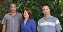 A Coordenadora de Vestibular, Profa. Marta de Souza Lima Velasco, e equipe. Fotógrafo Antônio Albuquerque. Acervo Núcleo de Memória.