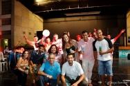 Samba da posse, realizada em 04/03 no Ginásio Poliesportivo. Facebook da AFPUC.