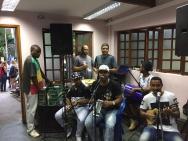 Festa de encerramento do Campeonato de Sinuca, 25/11, na sede da AFPUC. Facebook da AFPUC.