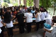 Festa de Final de Ano da AFPUC, realizada em 23/12, no campus da PUC-Rio. Facebook da AFPUC.