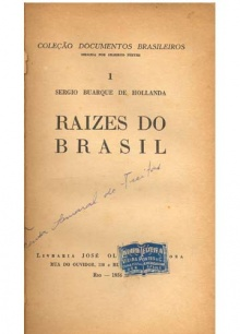 1ª edição de Raízes do Brasil.