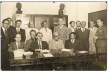 Reunião para subscrição das ações da OSB,  em 5 de agosto de 1940.