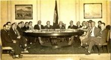 Primeira reunião do Conselho Deliberativo do CNPq, 17 de abril de 1951. Acervo Mast/Sedoc/CNPq.