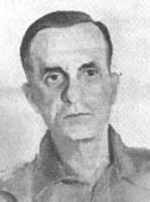 João Cabral de Melo Neto em retrato de Percy Deane.