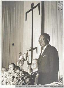 Presidente do Senegal em visita a PUC-Rio.