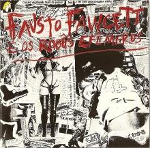 Capa do disco de Fausto Fawcett & os Robôs Efêmeros