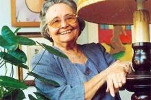 A escritora Raquel de Queiroz