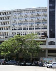 Prédio onde são ministrados cursos de especialização, na Av.Marechal Câmara