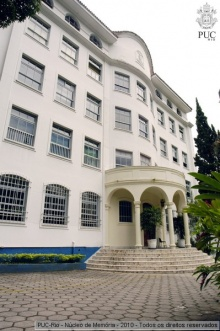 Prédio do antigo Colégio São Marcelo.