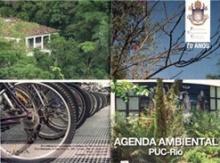 Capa da publicação com a Agenda Ambiental