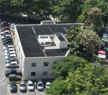 Vista aérea do Instituto Gênesis. Fotógrafo Nilo Lima. Acervo do Núcleo de Memória.
