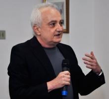 Professor Abraham Alcaim. Fotógrafa Fernanda Maia. Acervo Comunicar.