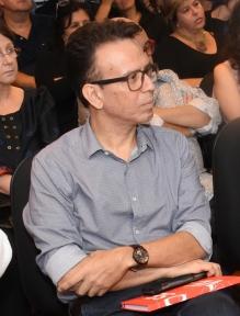 O Prof. Marcelo Andrade no lançamento do novo site do CTCH. 2017. Fotógrafo Antônio Albuquerque.