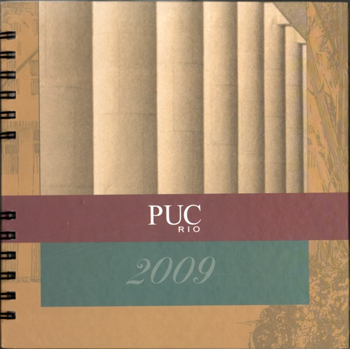 Capa da Agenda PUC-Rio 2009