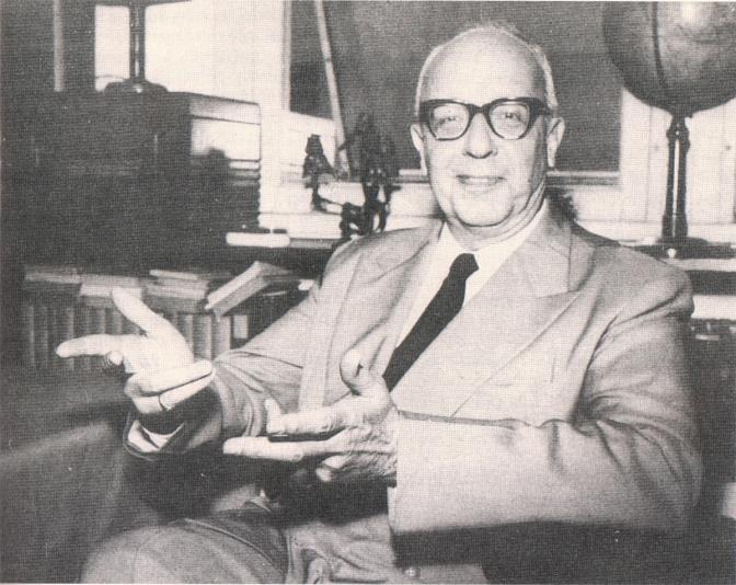 Prof. Alceu Amoroso Lima.